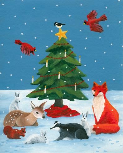 02-Woodland Christmas I