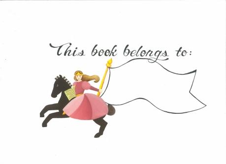 04-Princess Bookplate