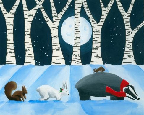 06-Woodland Christmas II
