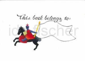 Bookplate Knight