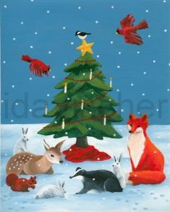Woodland Christmas I