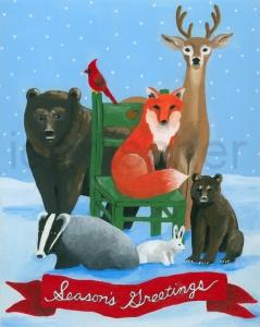 Woodland Christmas III
